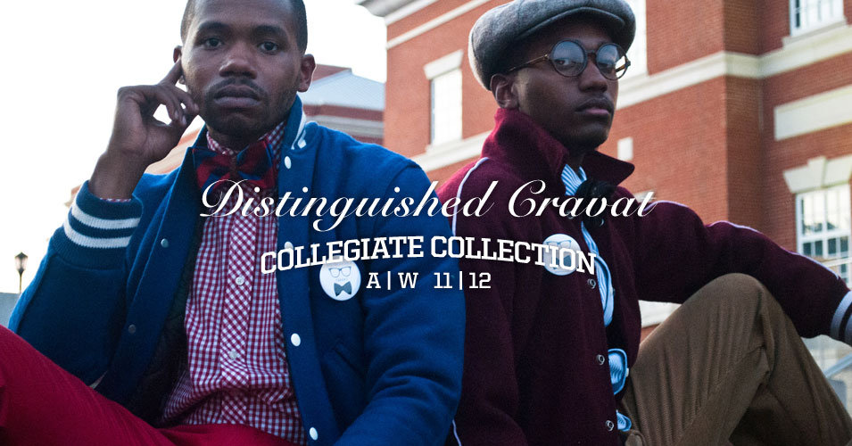 slide01 Distinguished Cravat | A/W 11 12 Collegiate Collection.