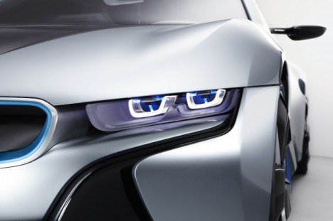 BMW Laser Lights