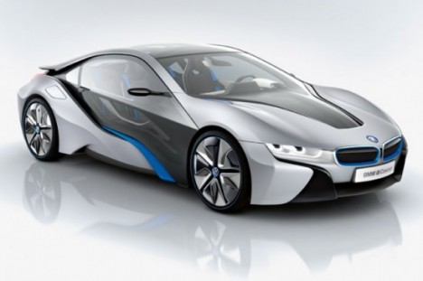 BMWi i8 468x3111 BMW Says OUT with LED and IN with Laser Headlights.