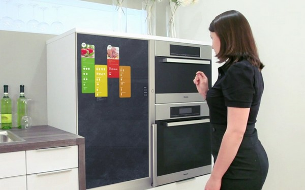 food management Refrigerator Of The Future | Interactive Touchscreen Terminal.