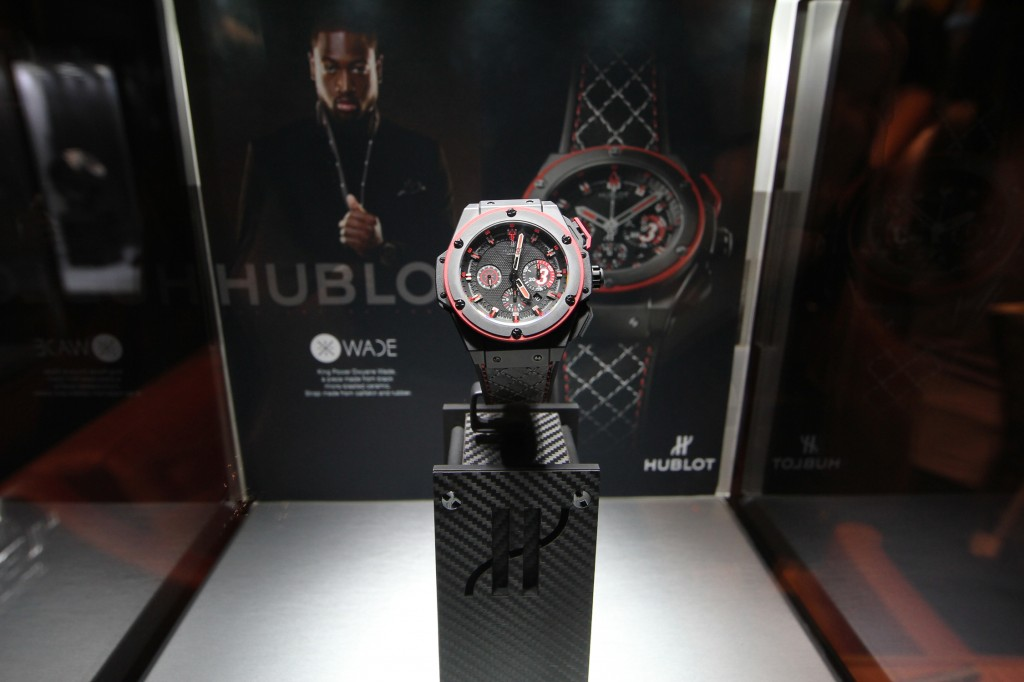 Dwayne Wade Hublot 1024x682 Dwayne Wade x Hublot Limited Edition Watch Collaboration.