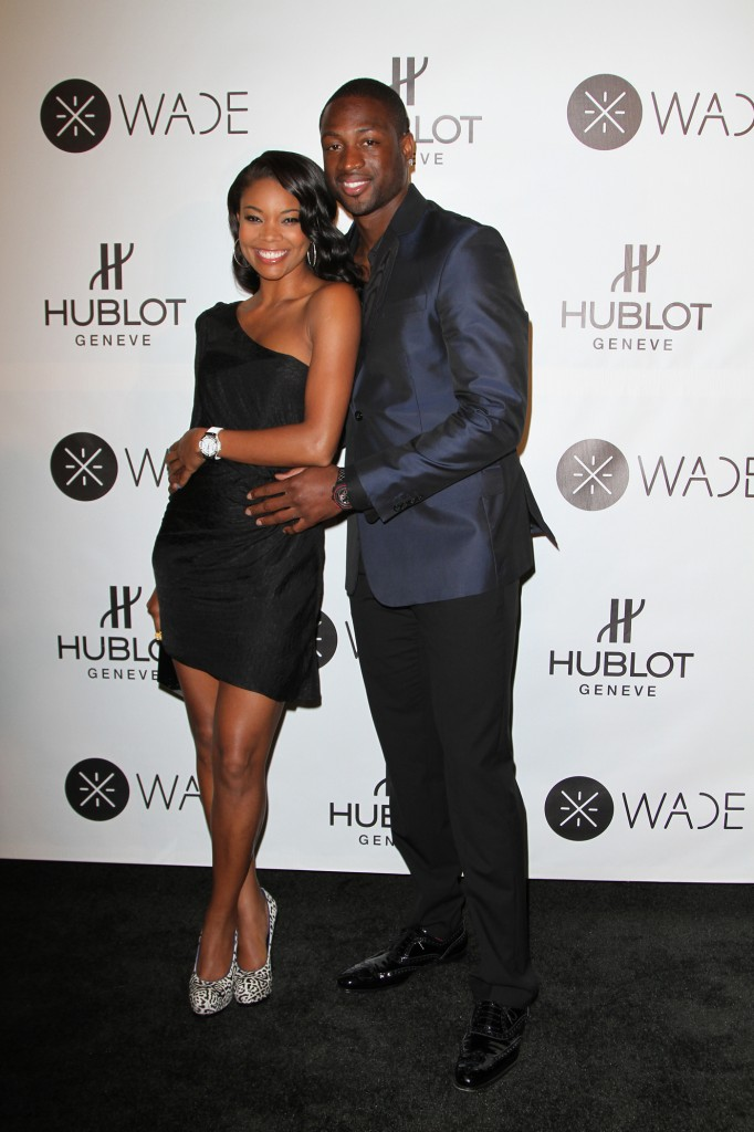 Gabrielle Union Dwayne Wade 682x1024 Dwayne Wade x Hublot Limited Edition Watch Collaboration.