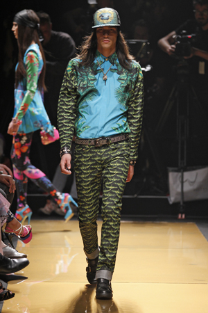VERSACE FOR H&M SS2012 NEW YORK