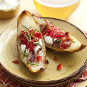 Potato Skins 300x300 Guide To Throwing A Super Bowl XLVI Party.