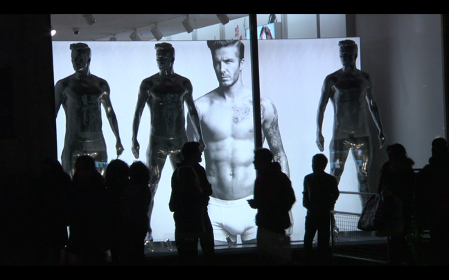 David Beckham HM 2 Event: David Beckham for H&M | London In Store Launch.