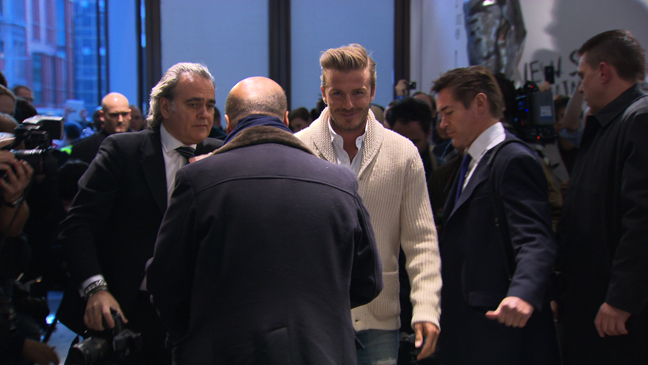 David Beckham HM Event: David Beckham for H&M | London In Store Launch.