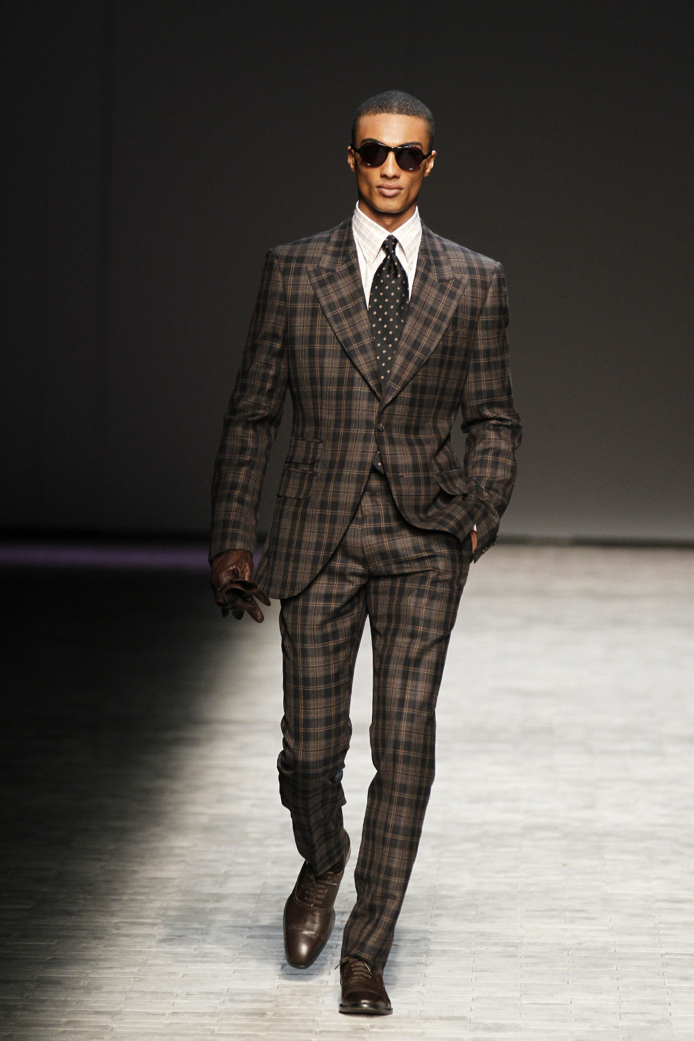FW12DLR Abboud Look 31 NYFW Review & Photos: Joseph Abboud Fall 2012