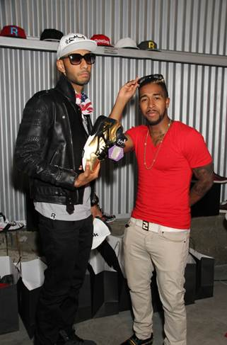 Omarion and Swizz Beatz