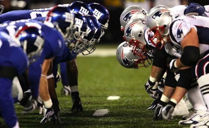 Giants vs. Patriots Super Bowl