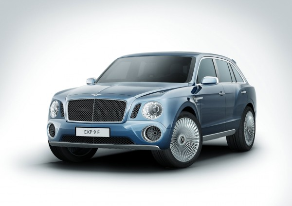 Bentley EXP 9 F 1 Bentley EXP 9 F SUV Concept.