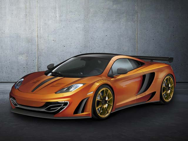 Mansory McLaren MP4 12C Mansory McLaren MP4 12C First Images Revealed.