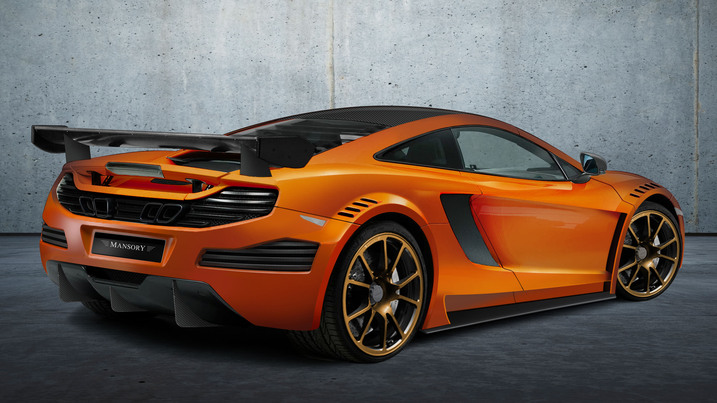 Mansory McLaren MP412C Mansory McLaren MP4 12C First Images Revealed.