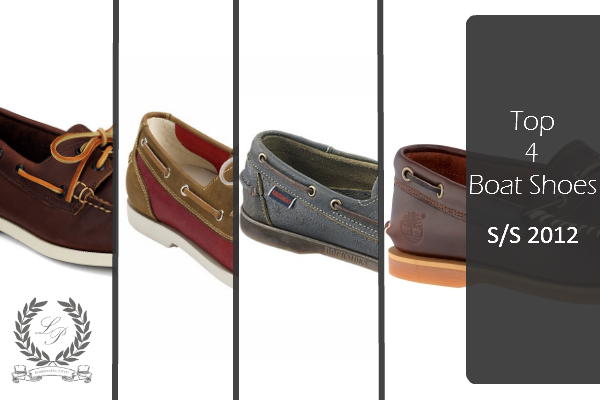 TopFourBoatShoes Top 4 Boat Shoes for Spring/Summer 2012.