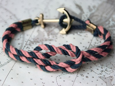 Swifter Tied Ripper Triton Knot Bracelet by Kiel James Patrick