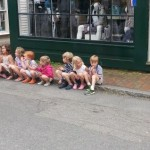 Children at Bannisters Wharf