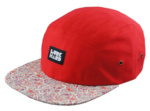 lurk hard poppy Lurk Hard 5 Panel Camp Hat.