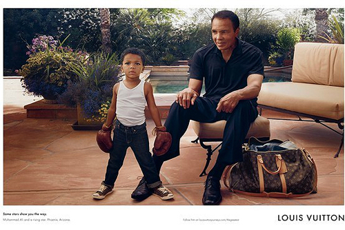Muhammad Ali and Louis Vuitton