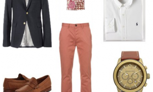 The Salmon Chino Outfit