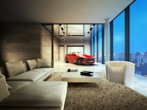 Hamilton Scotts Car Porch in Apartment.jpeg.492x0 q85 crop smart Singapores Hamilton Scotts Luxury En Suite Sky Garages.
