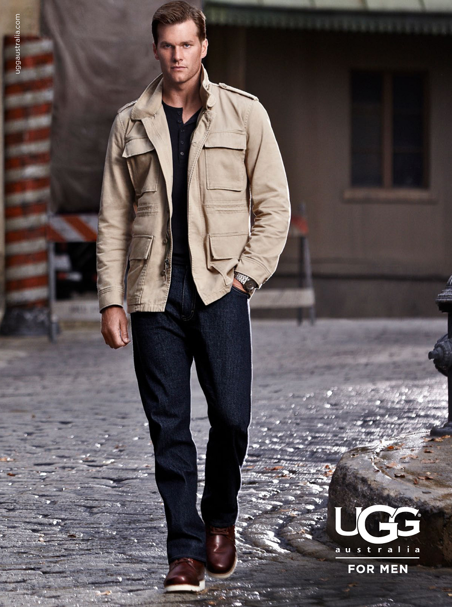 TomBradyUGG Behind the Scenes: UGG for Men Tall Wall Invisible Game Campaign.