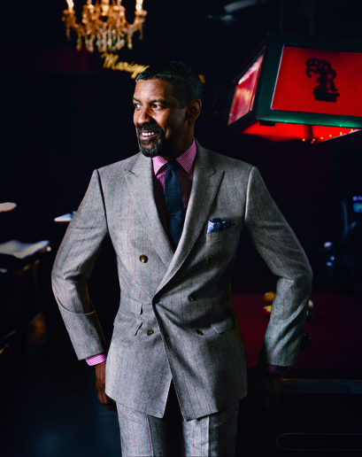 Denzel Washington Covers GQ on LuxuriousPROTOTYPE.com