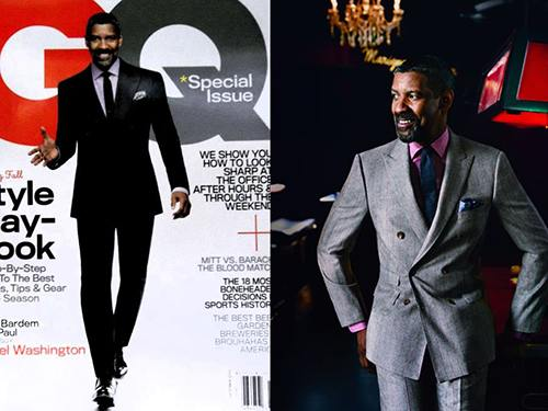 denzel washington cover Denzel Washington Covers GQ Magazines October 2012 Issue.