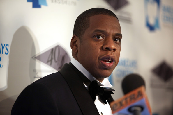 Jay-Z at the 40/40 Club Grand Opening in the Barclays Center