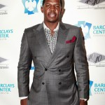 Joe Johnson at 40/40 Club Grand Opening in the Barclays Center