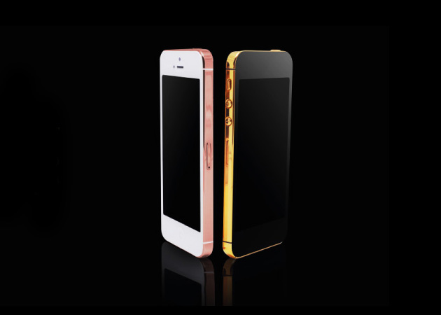 24 karat gold plated iphone 5 gold co 2 Gold & Co. 24 Karat Gold iPhone 5 Case.