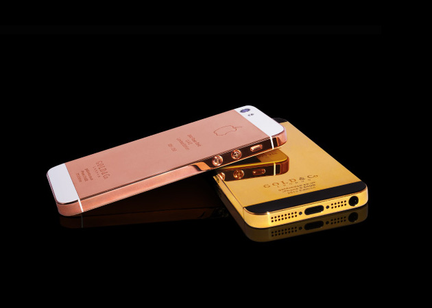 24 karat gold plated iphone 5 gold co Gold & Co. 24 Karat Gold iPhone 5 Case.