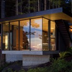 Case Inlet Retreat 2 150x150 Luxe Home: The New Cabin in the Woods | Case Inlet Retreat