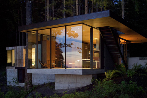 Case Inlet Retreat 2 Luxe Home: The New Cabin in the Woods | Case Inlet Retreat