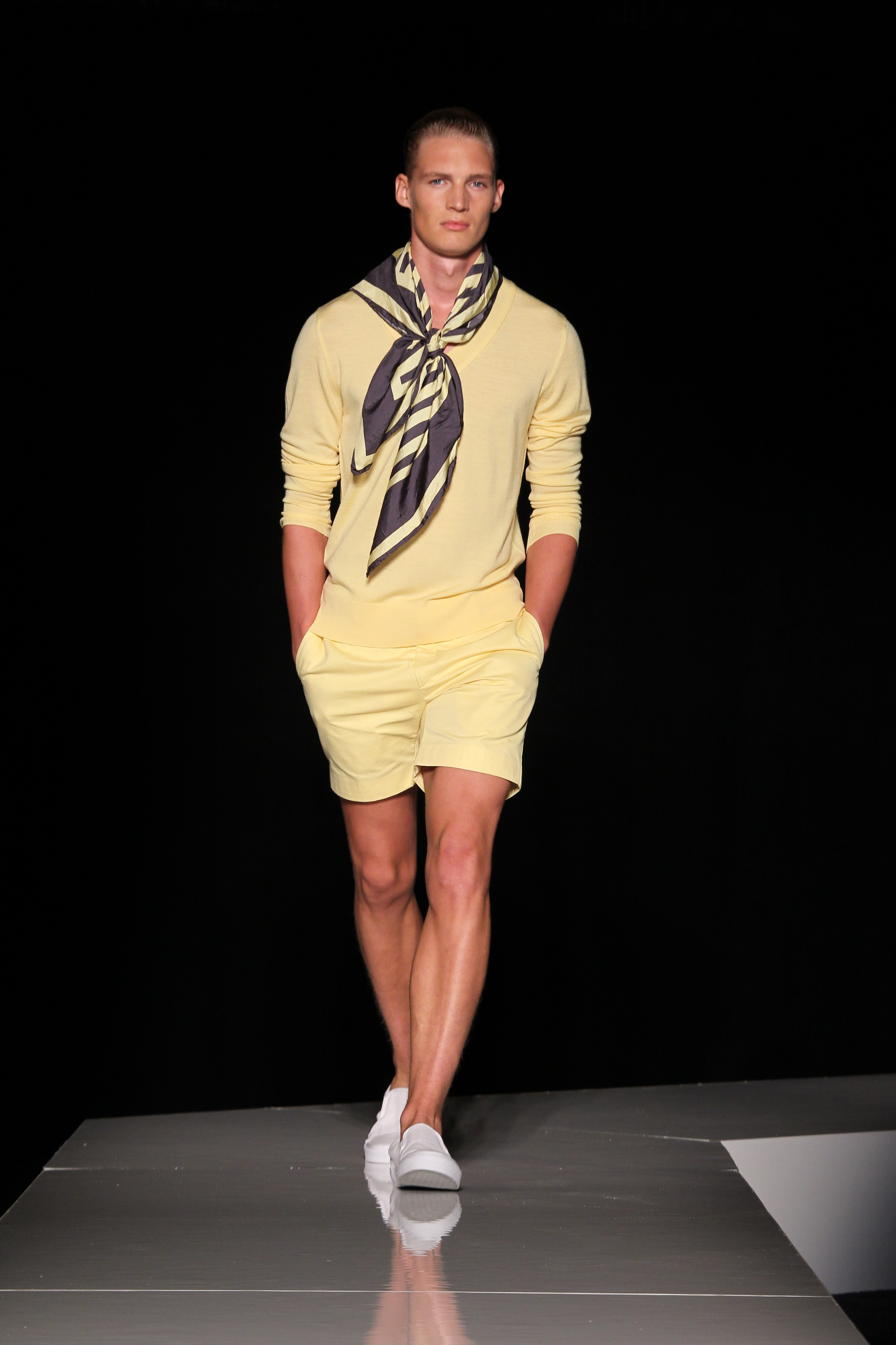 LOOK 3 Bernardo Rojo for Joseph Abboud Spring/Summer 2013 Collection