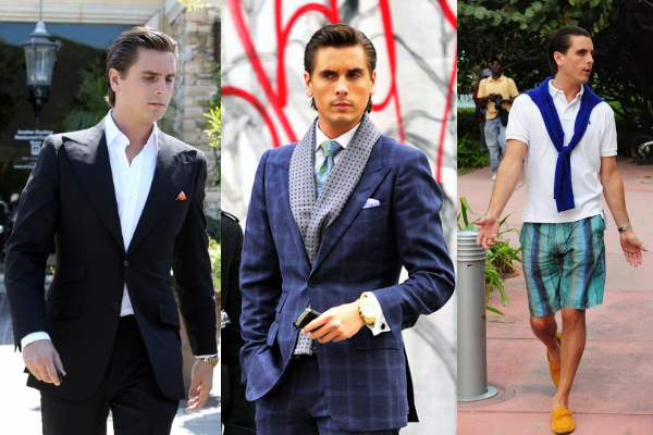 Scott Disick Collage Luxe Gentleman: The Stylish Scott Disick