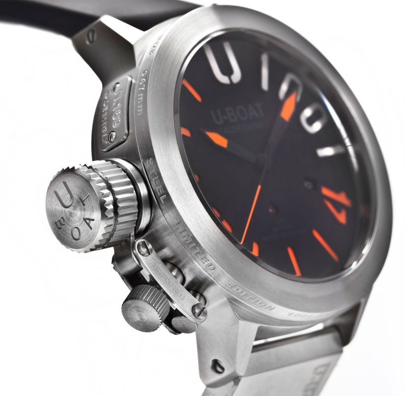 U Boat Classico U 1001 2 3 Top of the Range Diving Watches for Serious Divers.