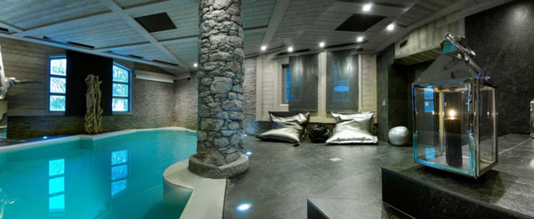 Chalet Black Pearl 16 French Alps Luxury Retreat: Black Pearl Chalet