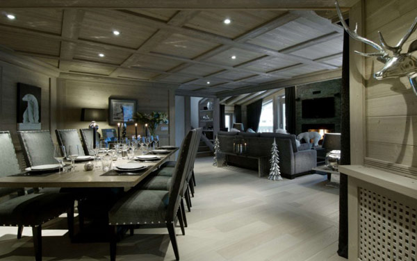 Chalet Black Pearl 3 French Alps Luxury Retreat: Black Pearl Chalet