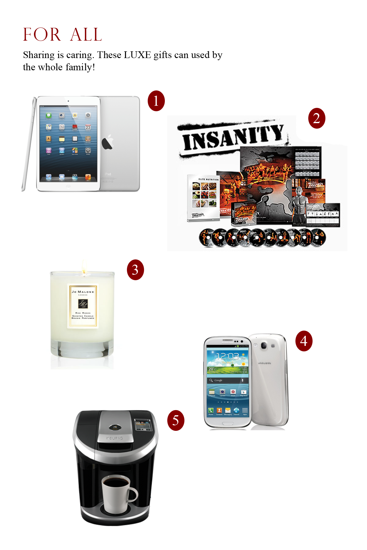 2012 Luxe Holiday Gift Guide Luxuriousprototype