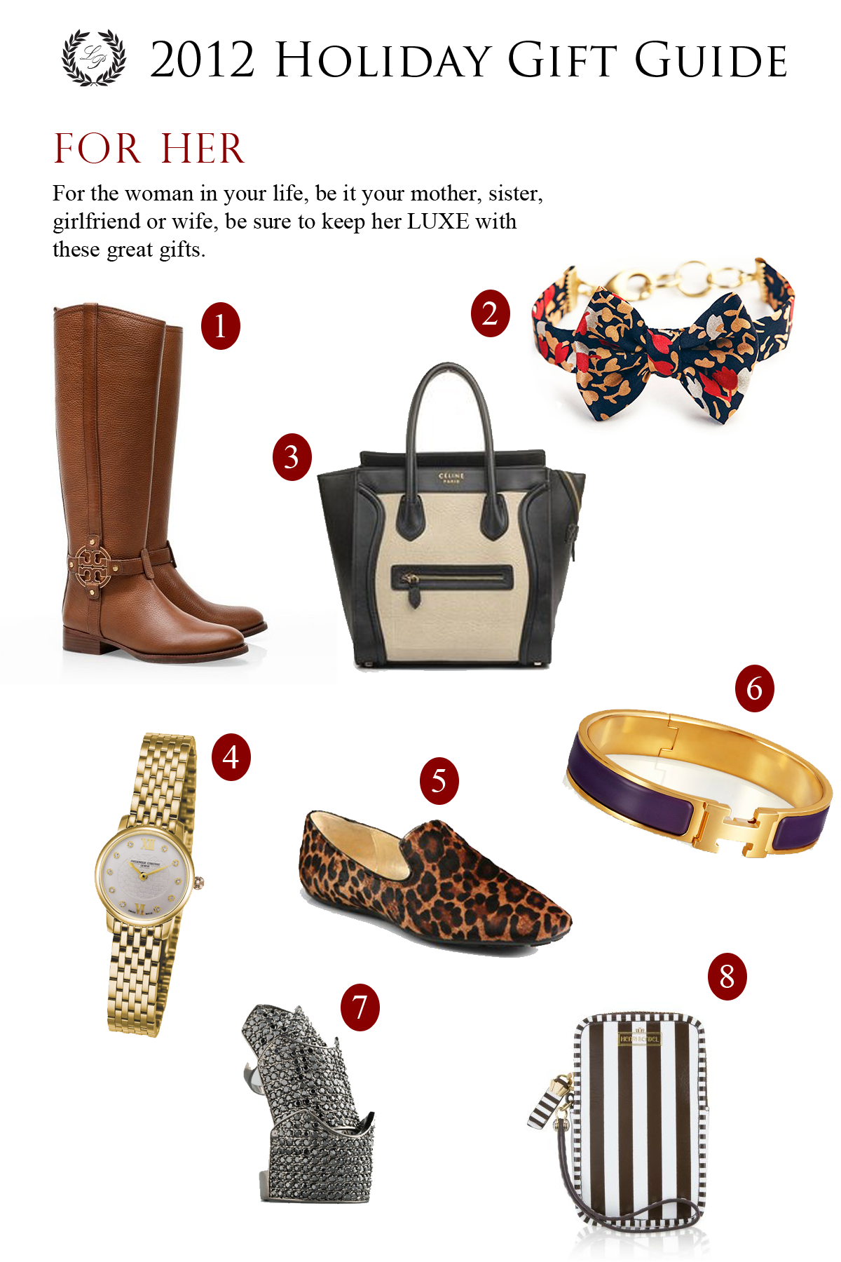 2012 Luxe Holiday Gift Guide