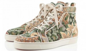 Christian Louboutin Tapestry Sneaker