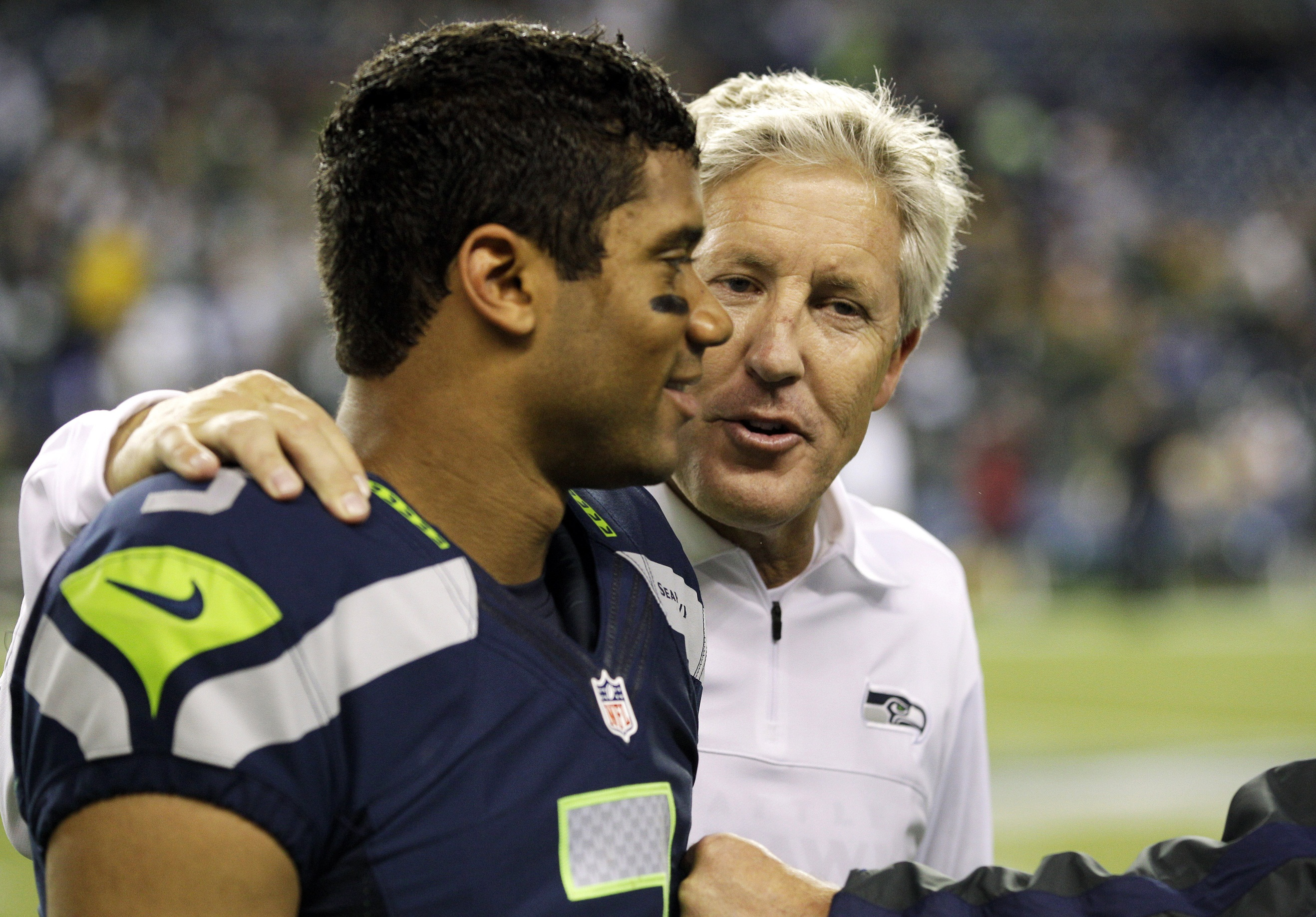 Russell and Pete Russell Wilson for Rookie of the Year