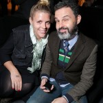 Busy Phillips and Mark Silverstein