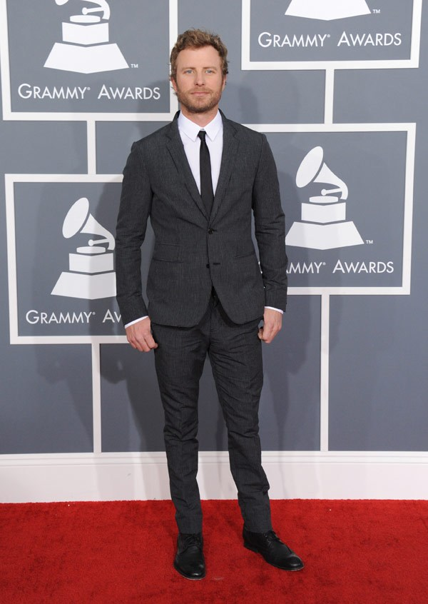dierks bentley grammys 201311 Grammys 2013: Best Dressed Gentlemen