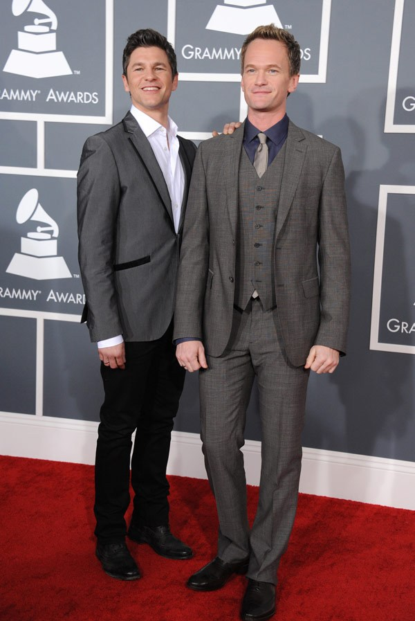 neil patrick harris david burtka grammys 201311 Grammys 2013: Best Dressed Gentlemen