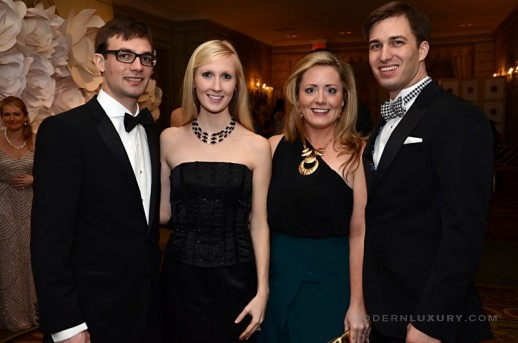 NYJL Winter Ball -Aubrey Whitfield. Meredith Whitfield. Sarah Holley and Joshua Holley