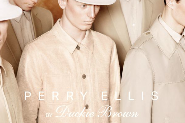 Perry Ellis By Duckie Brown Spring Summer 2013 Ad Campaign