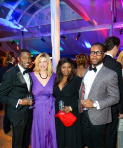 2013 Ball on the Mall - Phaon Spurlock, Makeda Saggau-Sackey & Brian Riddick