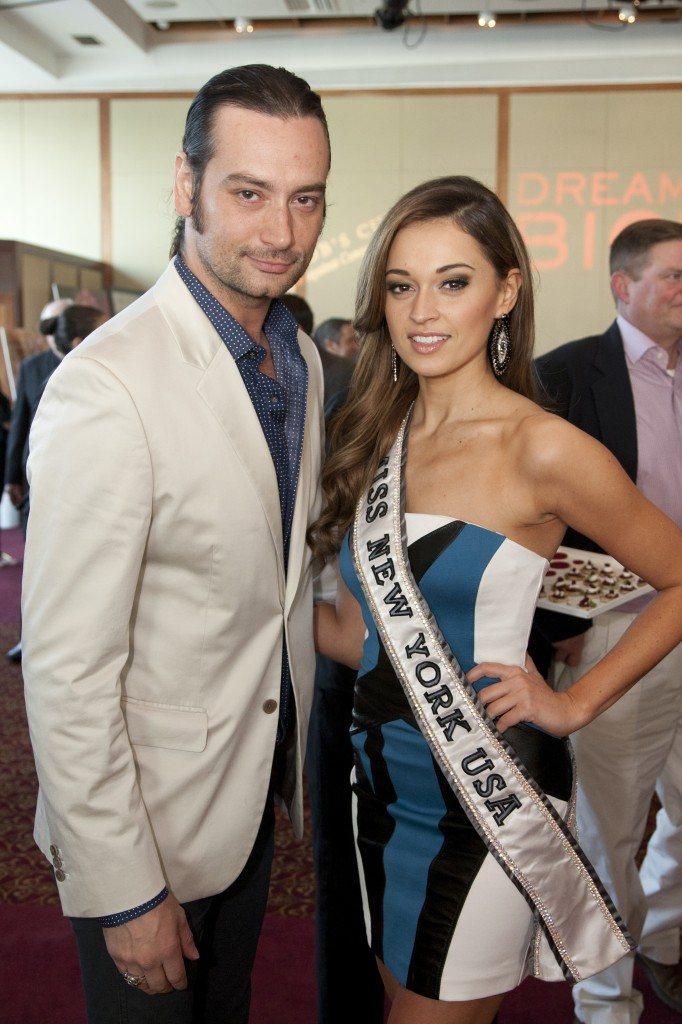 Constantine Maroulis and Joanne Nosuchinsky