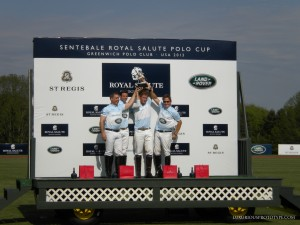 Prince Harry and the Sentebale Polo Team