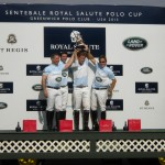 Prince Harry and the Sentebale Land Rover team